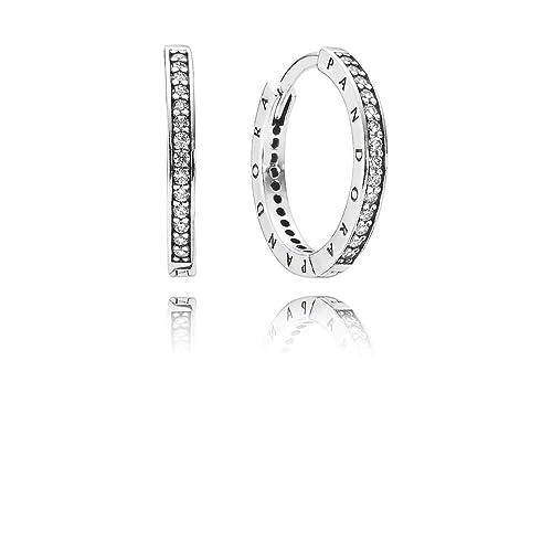 fama mondiale prese di fabbrica negozio online Pandora Orecchini a perno Donna argento - 290558CZ