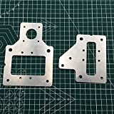 WillBest 2PCS Aluminum Plates for DIY Tevo 3D Printer 3MM Thickness 3mm Thickness