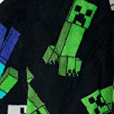 Minecraft Boys' Creeper Robe Black Size 6