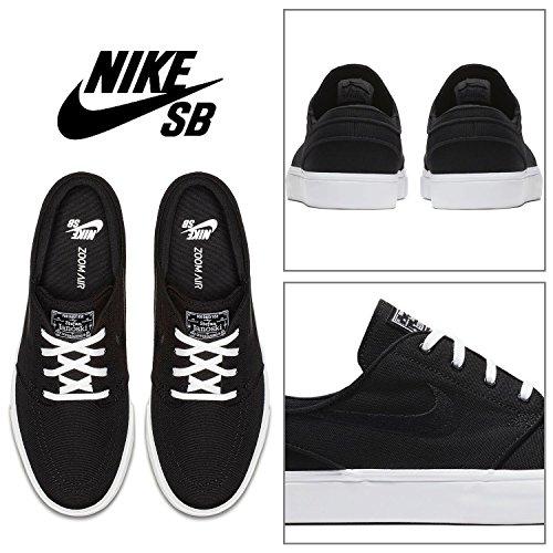 black Zoom Cnvs Scarpe Basse black Nero 001 Ginnastica Nike Da Stefan white Janoski Uomo 6USxwx