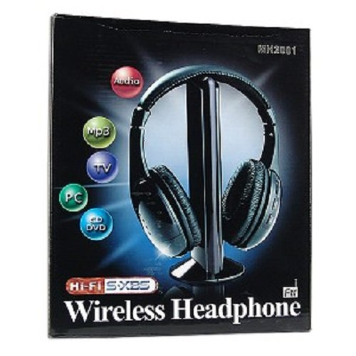 Amazon.com: N MARKET 5-in-1 Hi-Fi S-XBS Wireless Headphones with FM Radio: Cell Phones & Accessories