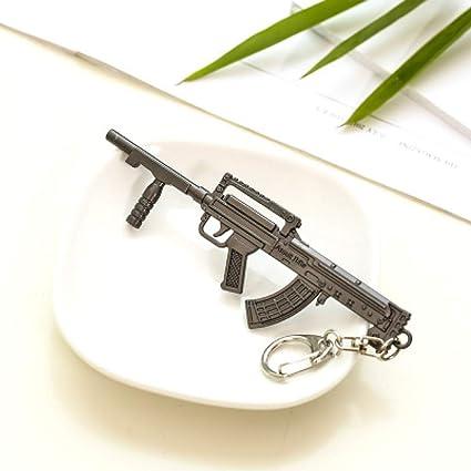 Llavero Modelo Arma Equipo Colgante Llavero Juego Alrededor ...