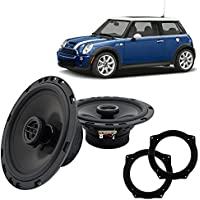 Fits Mini Cooper 2002-2006 Front Door Factory Replacement Harmony HA-R65 Speakers New