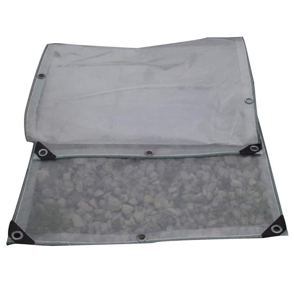 CLEAR 4.9X9.85M SXY888 BÂche en Plastique de fenêtre de Balcon d'épaississeHommest de Double Couche imperméable de Tente de bÂche de Prougeection, Taille Personnalisable