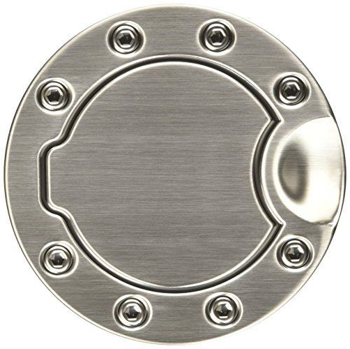 Bully SDG-202B Brushed Stainless Steel Fuel Door Cover (Door Stainless Cover Steel Fuel)