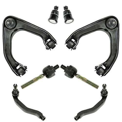 - 8 Piece Suspension Control Arm Tie Rod Kit Front for 92-96 Honda Prelude