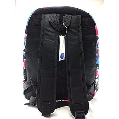 Disney Lilo and Stitch Allover Print Black 16 inch Girls Large School Backpack-black | Kids' Backpacks