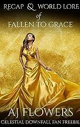 Recap & World Lore of Fallen to Grace: Celestial Downfall Trilogy Fan Freebie