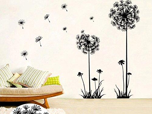 Yigo Dandelion Home D/écor Wall Sticker PVC,