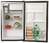 GARRISON REFRIGERATORS 2493165 4.4 Cu. ft. Energy Star Compact Refrigerator, Black