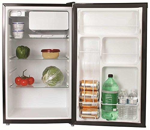 GARRISON REFRIGERATORS 2493165 4.4 Cu. ft. Energy Star Compact Refrigerator, Black by Garrison