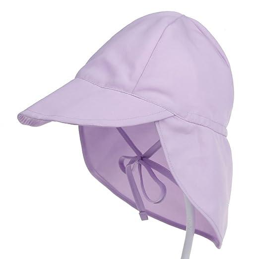 Amazon.com  Baby Toddler Infant Kids Sun Hat UV Protection ... 6ed3bea5389