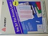 Avery 8166 Assorted File Folder Labels 1/3 Cut