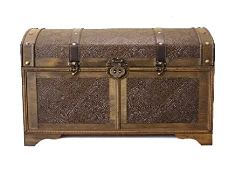 Styled Shopping Nostalgic Large Wood Storage Trunk Wooden Treasure Chest China