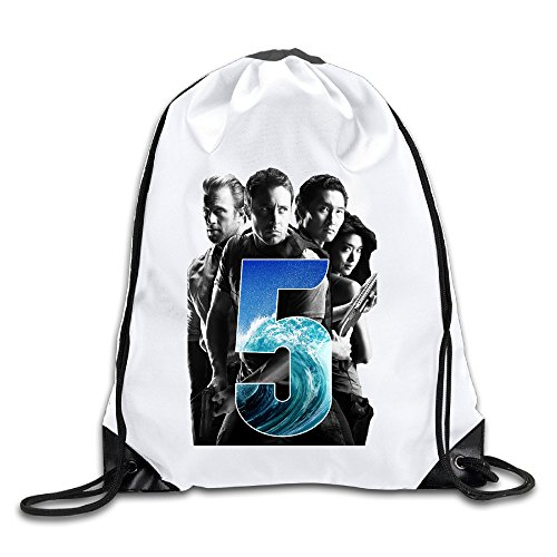 hawaii-five-0-poster-100-polyester-fiber-drawstring-backpack-one-size