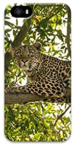 iPhone 5 iPhone 5s 3D Case,Animal-Leopard Case for iPhone 5/5s
