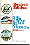 img - for The two great seals of America book / textbook / text book
