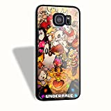 Undertale For Iphone Case And Samsung Galaxy case (Samsung Galaxy S6 Black)