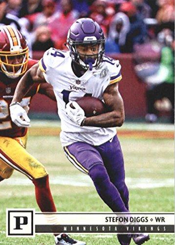 2018 Panini NFL Football #181 Stefon Diggs Minnesota Vikings Official Trading Card