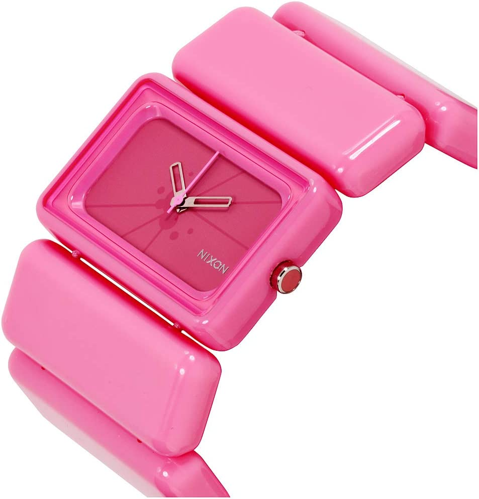 TEST Nixon The Vega Watch Pink - B4BC