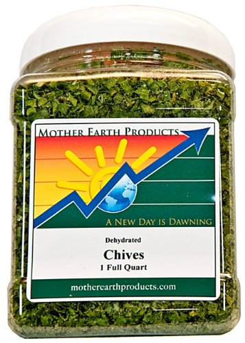 Mother Earth Products Dried Chives, Quart ()