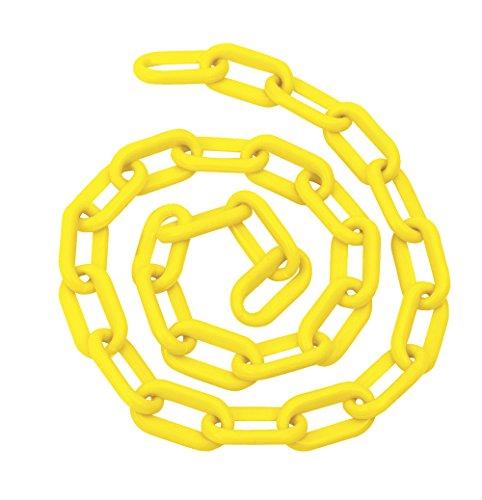Foy 143425 Cadena Plástica, 8 mm X 5/16', 25 m, 80 kg, color amarillo