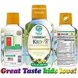 Premium Children's Liquid Multivitamin & Superfood - 100% Daily Value of 14 Vitamins, 66 Minerals and 23 Amino Acids for Kids Ages 4+. Great Tasting, Non-GMO, Sugar Free - Max Absorption! - 32 Serv.