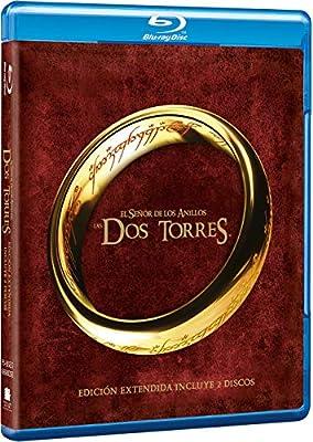 El Señor De Los Anillos: Las Dos Torres Ed. Extendida Blu-Ray Blu ...