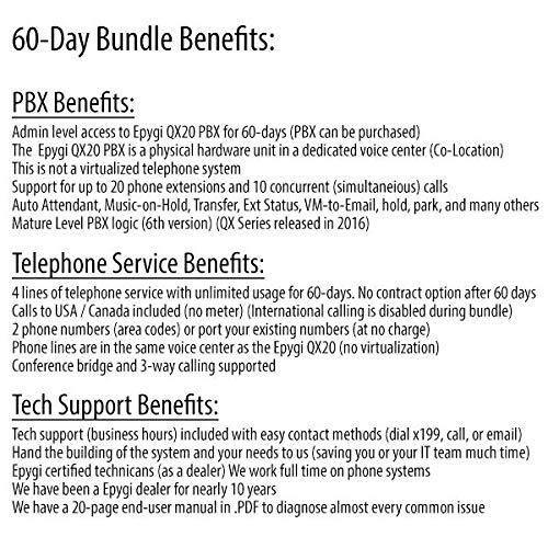 Epygi QX20 w 4 Yealink SIP-T23G Phone PBX Business Phone System ...
