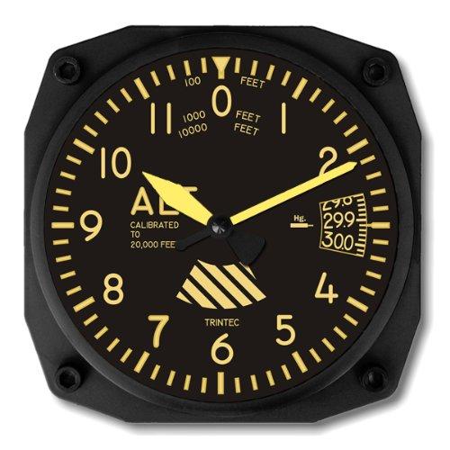 Amazon Com Trintec Vintage Altimeter Altitude Wall Clock