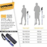 Trekking Poles Collapsible Hiking Poles - Aluminum