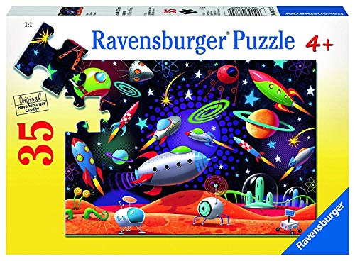 Ravensburger Space Jigsaw 35 Piece Jigsaw Puzzle for Kids - Every Piece is Unique, Pieces Fit Together Perfectly