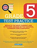 Barron's Core Focus Grade 5: Test Practice for Common Core