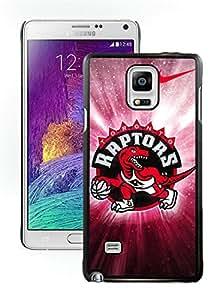 New DIY Designed Skin Case For Samsung Galaxy Note 4 N910A N910T N910P N910V N910R4 With Toronto Raptors 2 Black Phone Case