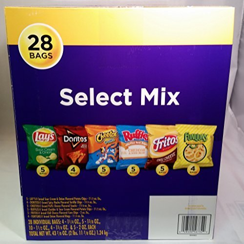 Frito Lay Select Mix Variety Box 28 Bags by Frito -