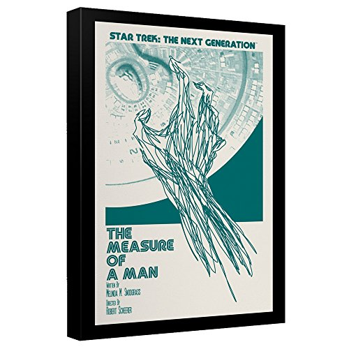 Star Trek: The Next Generation The Measure of a Man Juan Ortiz Poster Canvas Wall Art -