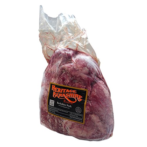 American Kurobuta Pork Cheeks Frozen - 5 Lb Bags (Pack of 3), Avg 15 Lb Case by Heritage Berkshire Farms