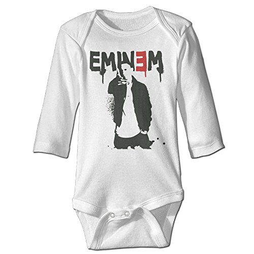 Newborn Baby Boys Autumn Bodysuit With Eminem