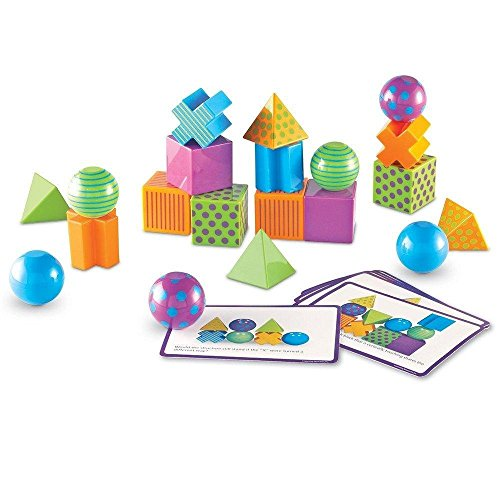Learning Resources Mental Blox Critical Thinking Game, Easter Basket Game, 20 Blocks, 20 Activity Cards, Ages 5+