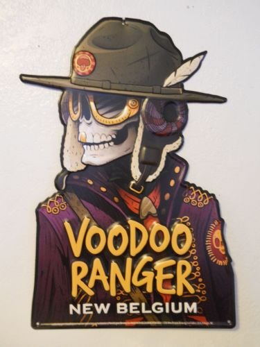 New Belgium Voodoo Ranger Metal Pub Sign ()