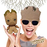 Marvel Guardians Of The Galaxy Vol. 2 Cosplay Baby Groot Funko Pop Figures Plush Doll and Cool Funny Novelty Big Kids Child Sunglasses Party Toy