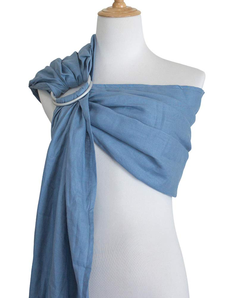 Vlokup Ring Sling Baby Carrier Wrap Luxury Linen And Cotton Baby