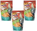 (3 Pack) Kaytee Fiesta Mango Flavored Yogurt Dipped Papaya Bird Treat, 2.5 Ounce each