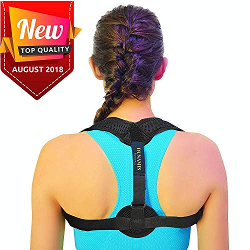 Posture Correctors for Women and Men - Invisible and Comfortable Improves Posture Correction Brace - Discreet Adjustable Design - Therapeutic Brace & Upper Back Support