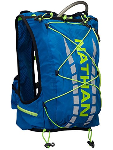 Nathan Vapor Air 7L Hydration Race Vest Electric Blue Lemonade, XS (Nathan Race Vest)