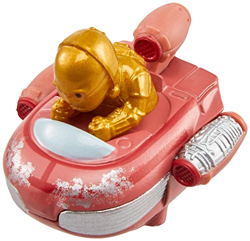 Hot Wheels Star Wars Starship C-3PO y vehículo Landspeeder