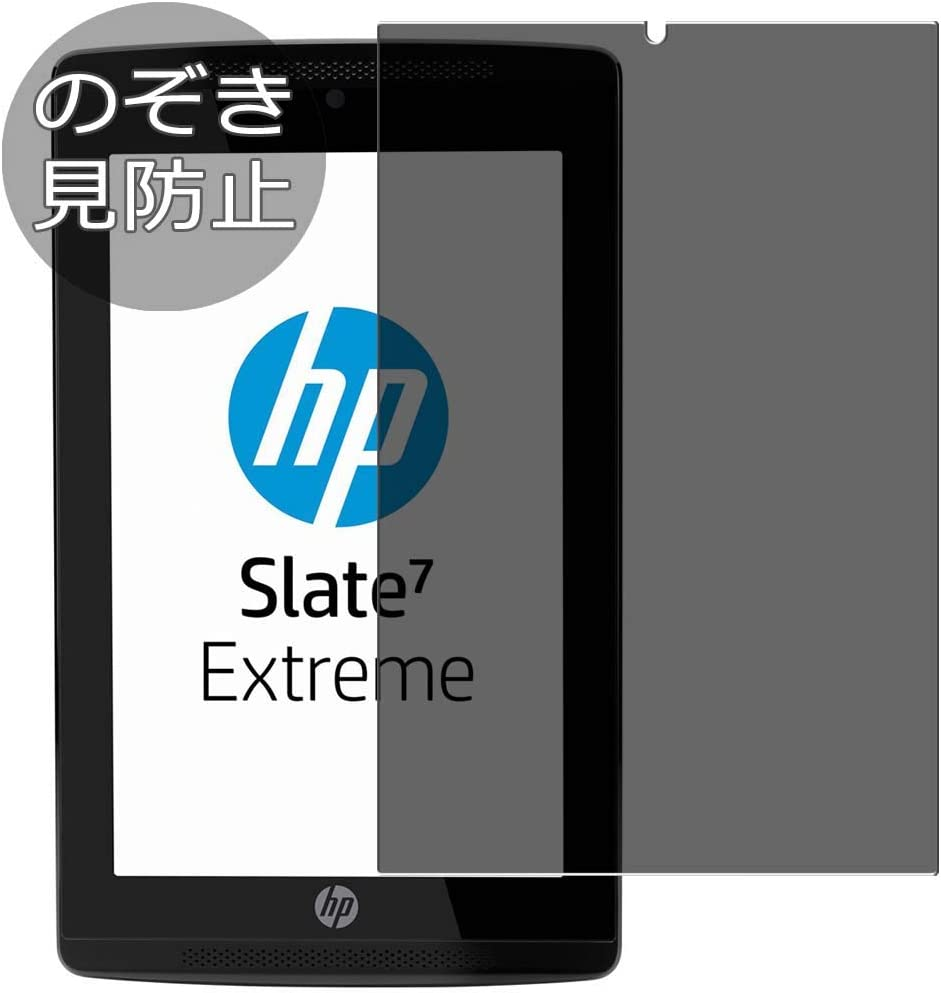 """Synvy Privacy Screen Protector Film for HP Slate 7 Extreme 7"""" Slate7 0.14mm Anti Spy Protective Protectors [Not Tempered Glass]"""