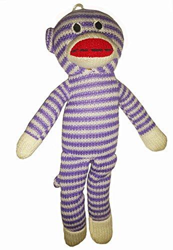 Purple Plush Stocking - 7