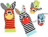 Calcetines de Juguetes, MTQ Juguetes Bebé, Sonajeros de bebé, Sonajero de Juguetes, Calcetines y Pulseras de J