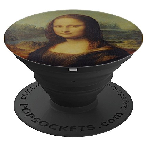 Mona Lisa Painting Art Portrait - PopSockets Grip and Stand for Phones and Tablets